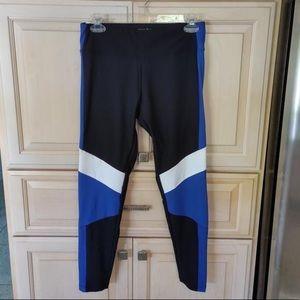🆕 Marina: Black/Blue/White Workout Leggings